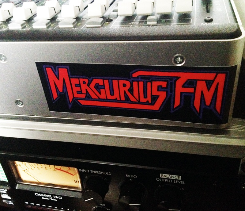 Mercurius FM Techno Sticker 1