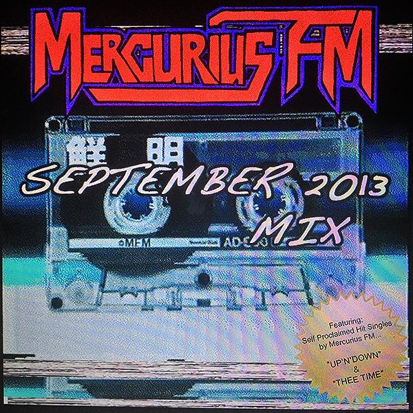 Mercurius FM Sept 2013 Mix