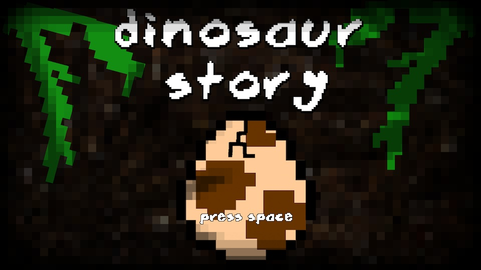 Dinosaur Story Title Screen