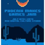 phoenix makes games jam 2014 flyer